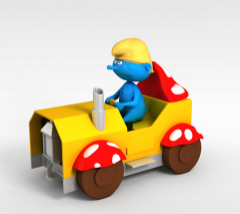儿童玩具模型3d模型