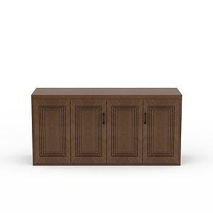 廚房柜子模型