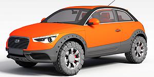 3d迷你<font class='myIsRed'>汽车</font>模型