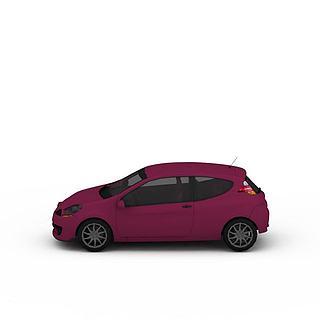 微型<font class='myIsRed'>汽车</font>3d模型