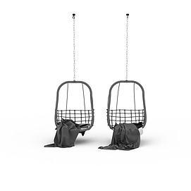 挂式摇椅3d模型