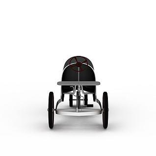 复古小车3d模型