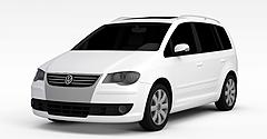 白色商务车模型3d模型
