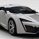 豪华汽车模型