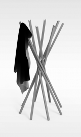 木结构<font class='myIsRed'>衣架</font>3d模型