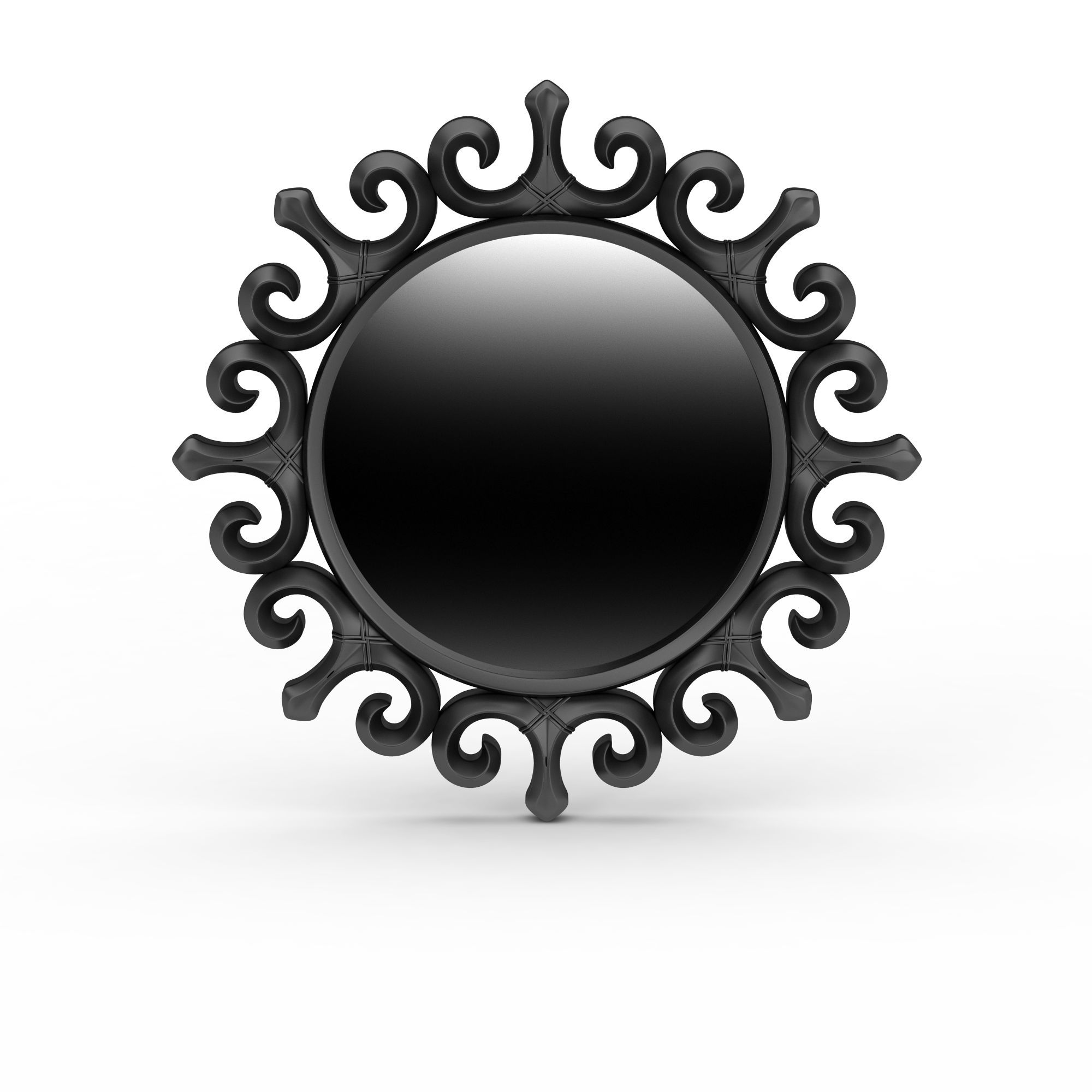 欧式镜子高清图下载