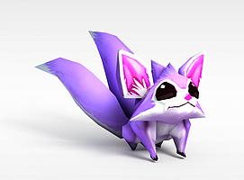 LOL璐璐变形仙灵女巫3d模型
