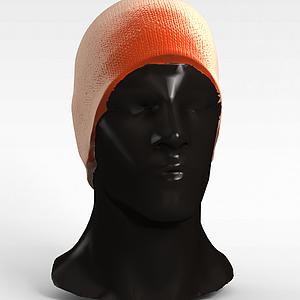 3d商場帽子<font class='myIsRed'>模特</font>模型
