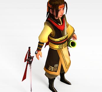 剑灵游戏人物