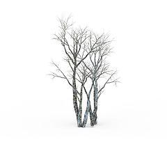 游戏场景树模型3d模型