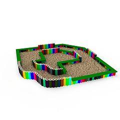 儿童娱乐设备模型3d模型