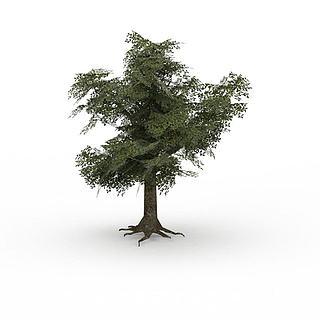 绿<font class='myIsRed'>树</font>3d模型