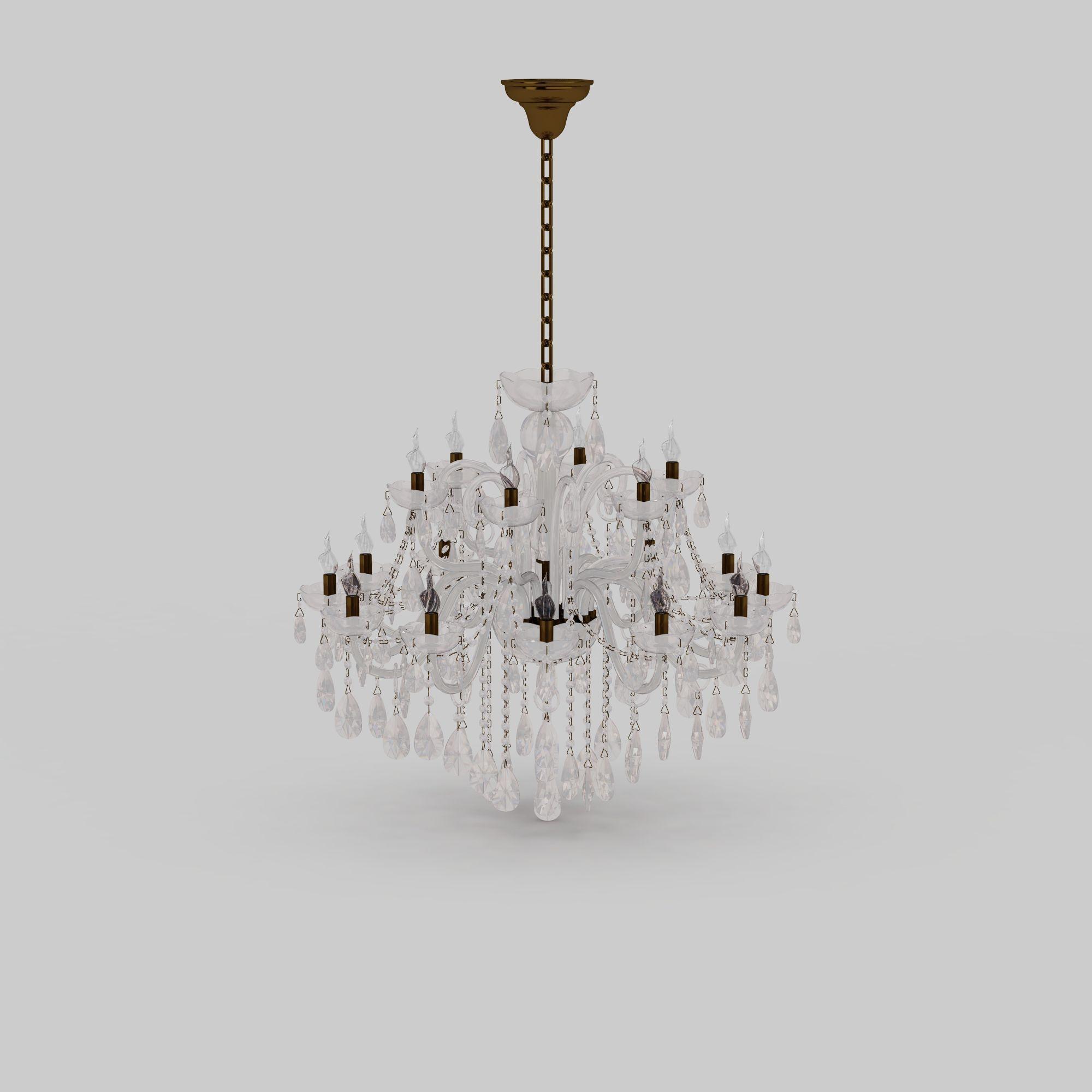 水晶吊灯高清图下载