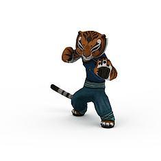 功夫熊猫老虎3D模型3d模型