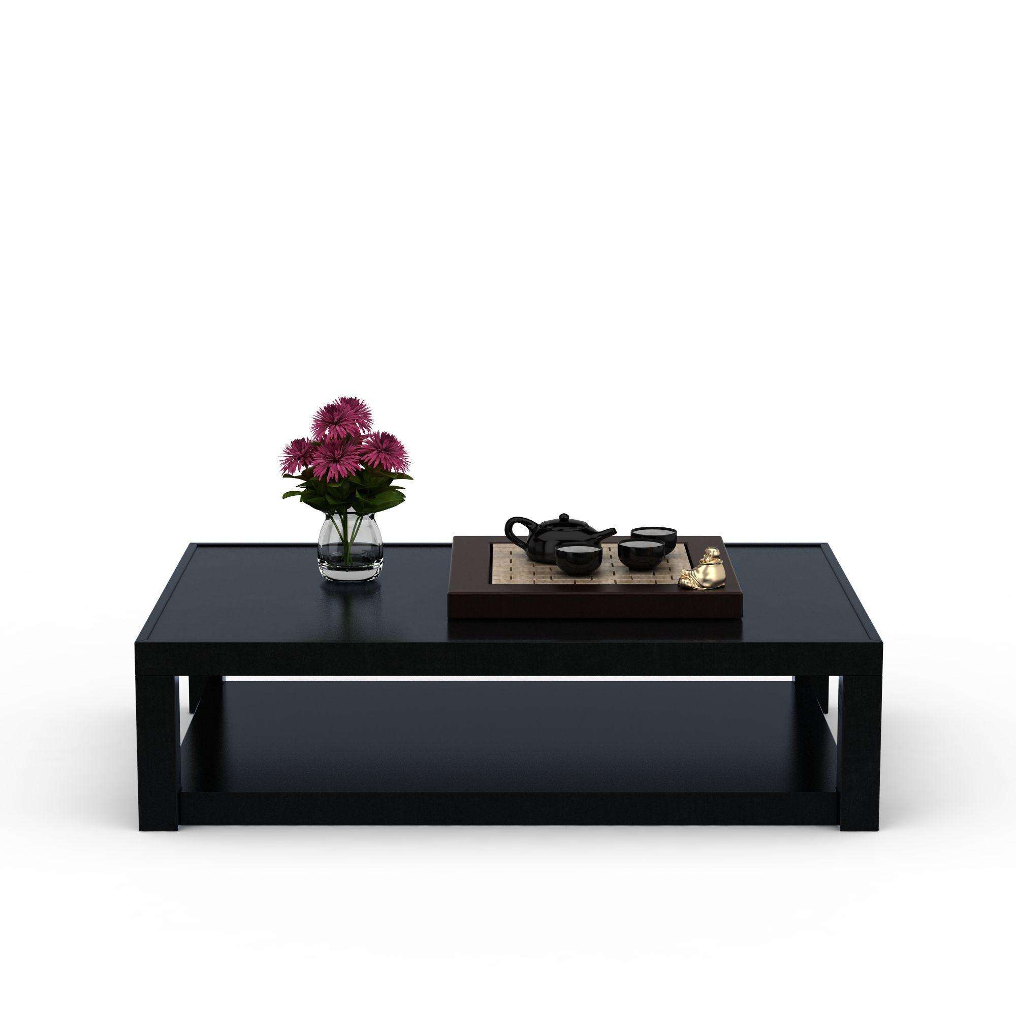 家具组合 沙发茶几组合 现代中式茶几3d模型 现代中式茶几png高清图