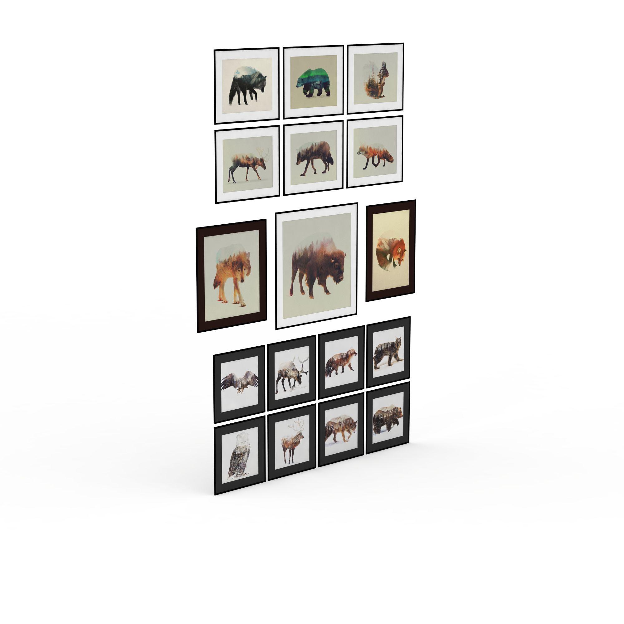动物壁挂装饰品高清图下载