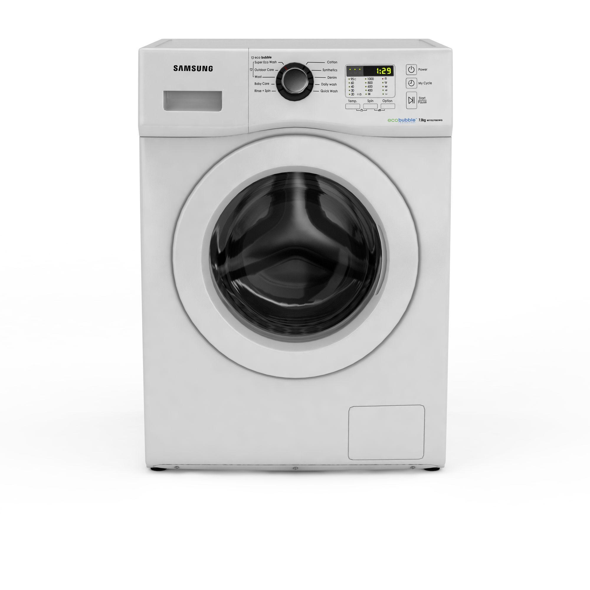 三星滚筒洗衣机高清图下载