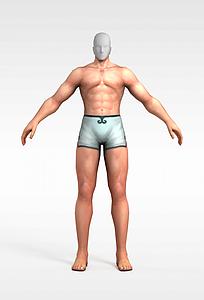 3d男人模型