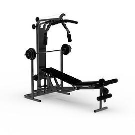 健身器材模型