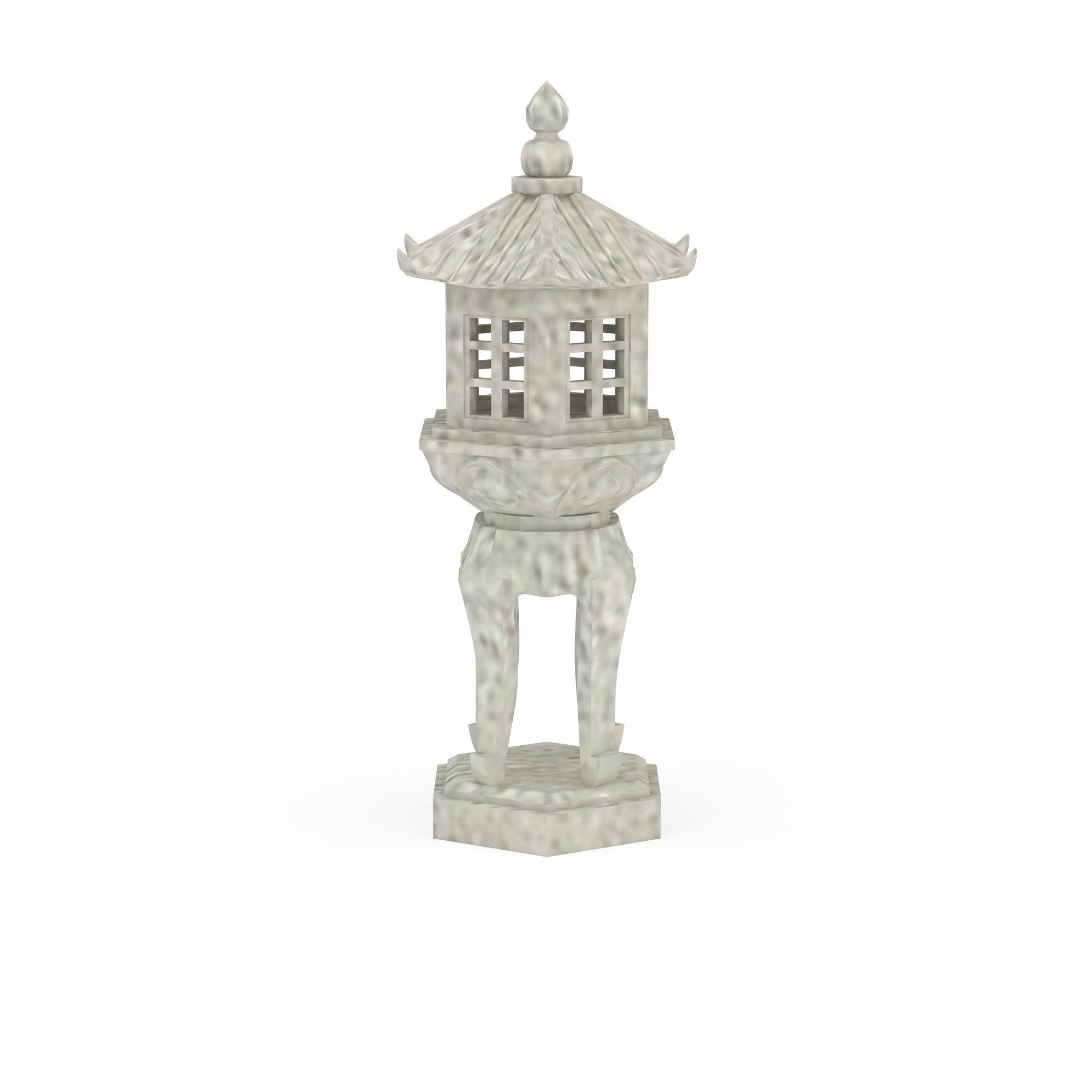 中式石灯高清图下载