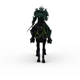 英雄无敌6角色骑兵3d模型