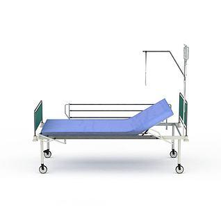 医疗床3d模型