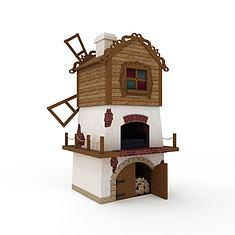 儿童娱乐城堡3D模型3d模型