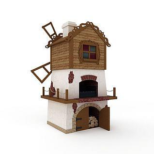 儿童娱乐城堡3d模型