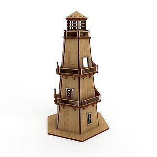游乐城堡3d模型
