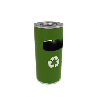 环保垃圾桶3d模型