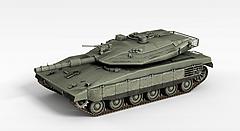 作战坦克模型3d模型