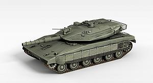 3d作戰<font class='myIsRed'>坦克</font>模型