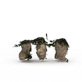 藤草植物3d模型