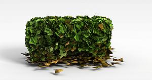 3d植物<font class='myIsRed'>灌木丛</font>模型