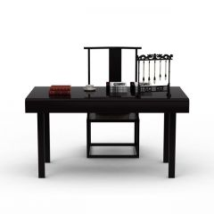 新中式桌椅组合模型3d模型