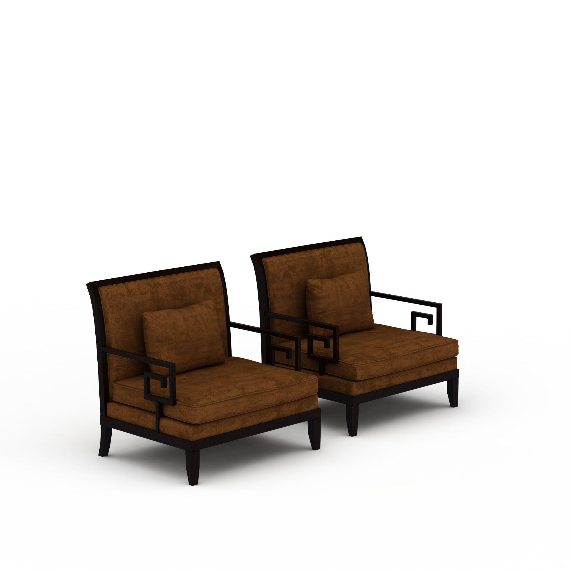 新中式休闲椅子png高清图  新中式休闲椅子高清图详情 设计师 3d学院