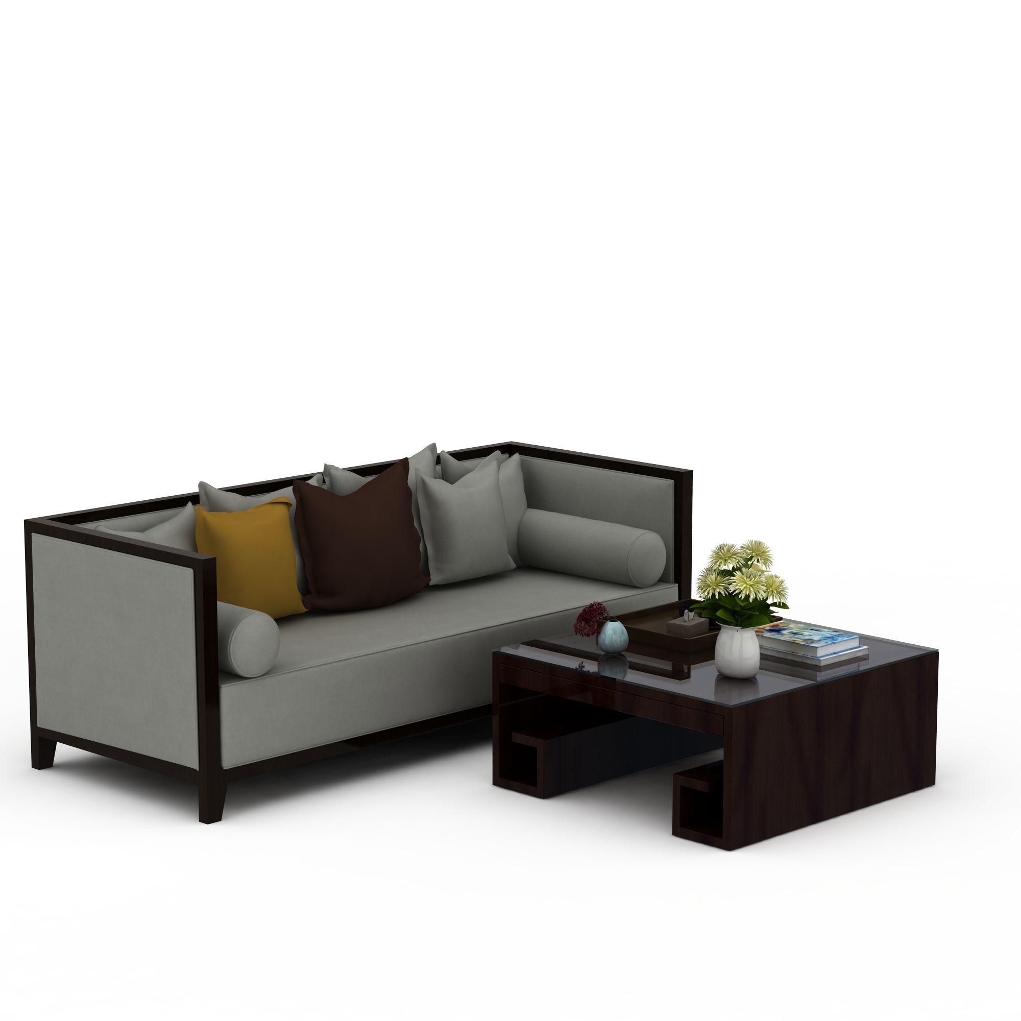 家具组合 沙发茶几组合 新中式沙发茶几组合3d模型 新中式沙发茶几