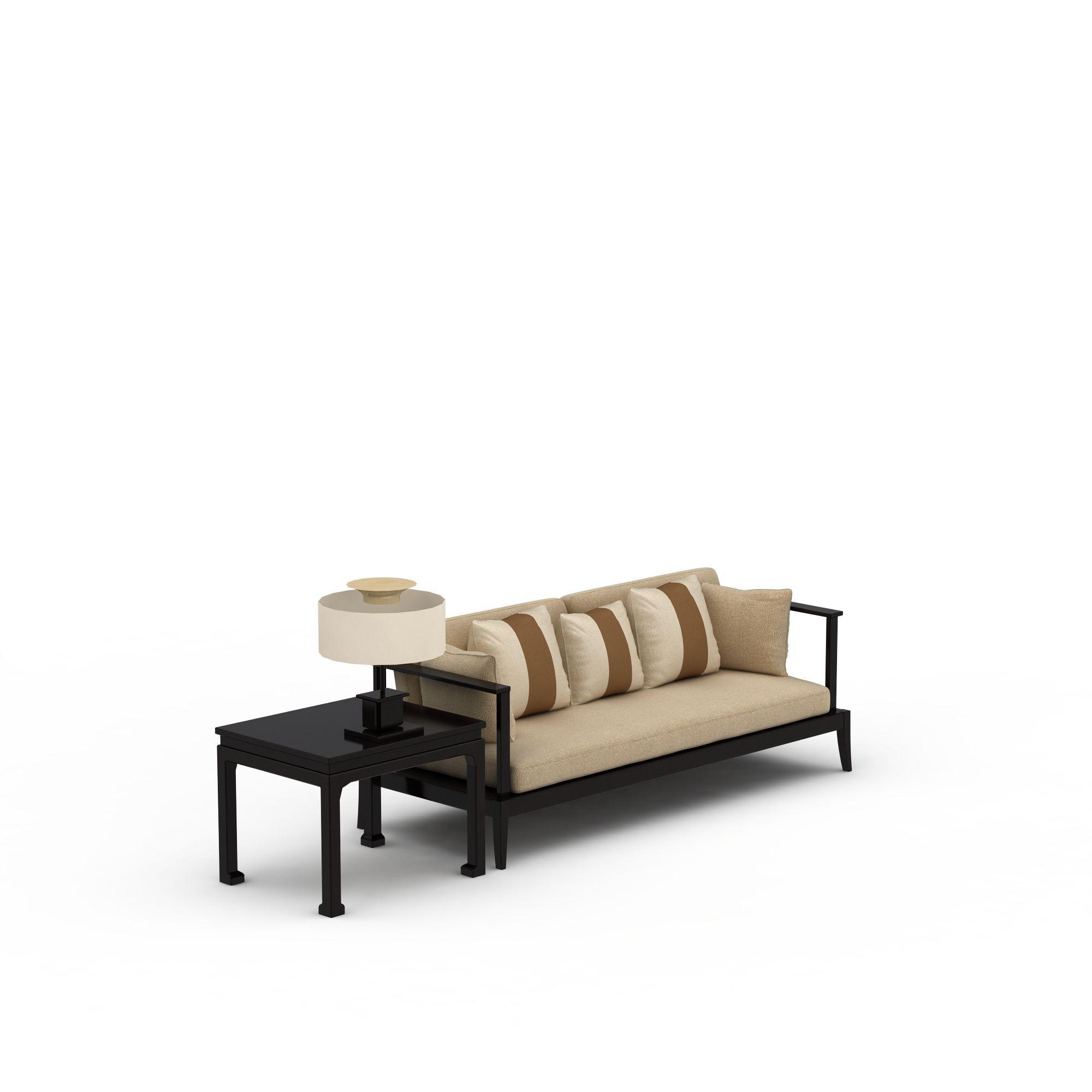 新中式沙发png高清图  新中式沙发高清图详情 设计师 3d学院 模型名称