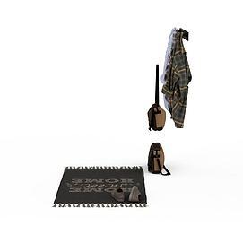 3d服装道具模型