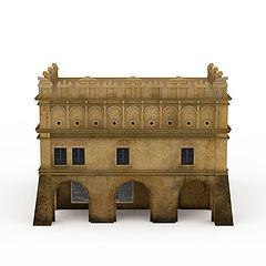 建筑模型3d模型