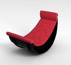 休闲躺椅模型3d模型