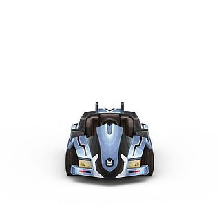 QQ飞车3d模型