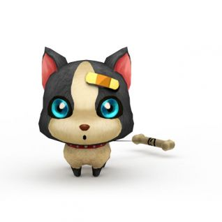 十二生肖宠物3d模型