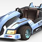 QQ飞车模型