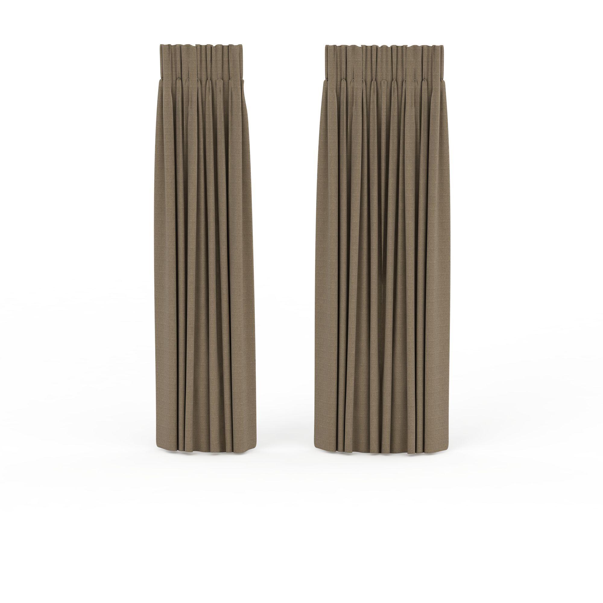 家具组合 窗帘 现代简约窗帘3d模型 现代简约窗帘png高清图