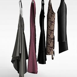 3d商展服装模型