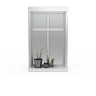 铝合金窗户3d模型