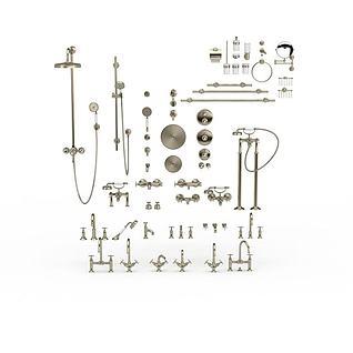 卫浴用品3d模型