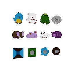 儿童玩具磁性卡通贴模型3d模型
