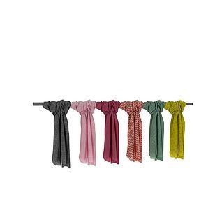 多种款式围巾3d模型